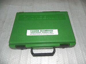 Greenlee 7238sb Case 1 2 2 With Wrench Two Draw Stud Only 767 746 7310