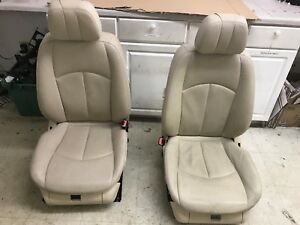 Oem Mercedes Benz E550 W211 Set Front Left Right Side Heated Ac Cold Seats Tan