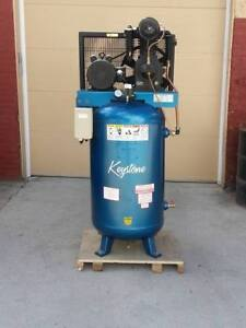 Industrial Cast iron 2 Stage 80 Gallon Air Compressor Replaces Kellogg