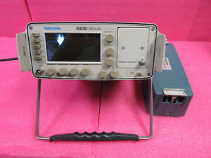 Tektronix 1503c Metallic Tdr Time domain Reflectometer Module Cable Tester