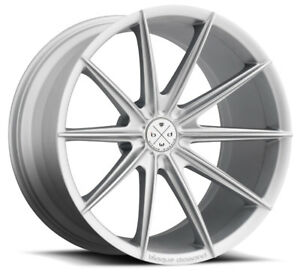 20 Blaque Diamond Bd 11 Silver Wheels For Lexus Is250 Is350 Isf