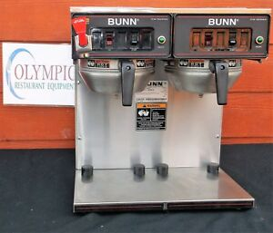 Thermal Carafe Coffee Brewer Dual Bunn Commercial Cwtf twin tc