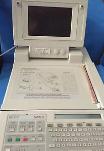 Hp Ekg M1700a Pagewriter Xli With Saecg Module M1700 69511 And Cables