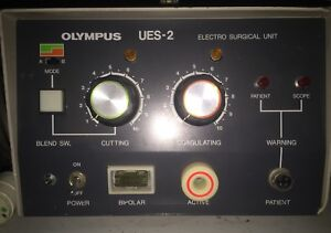 Olympus Ues 2 Electrosurgical Unit