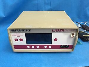 Vasamedics Pv2000 Vascular Microlaboratory Laser Dopper With Porbe Attachment