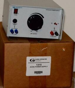 New Global Specialties Interplex Model 1315 Ac Dc Power Supply 115v 50 60 Hz