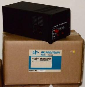 New Bk Precision Model 1682 Dc Bench Power Supply 120v 220v Ac 50 60 Hz