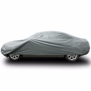 Car Cover Universal Waterproof Dust Resistant Uv Snow Protection 4 Layers