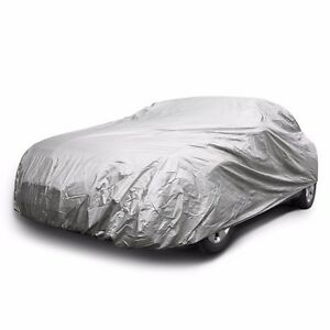 Car Cover Water Dust Resistant Uv Snow Protection Indoor Outdoor Universal Sedan
