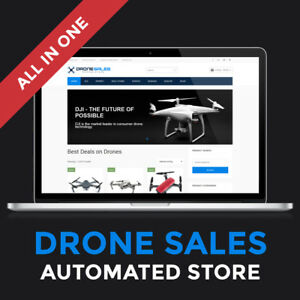 Turnkey Website Automated Drone Business Website For Sale