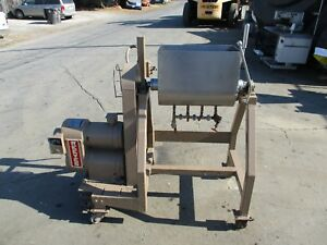 Stainless Steel Mixer With Unloading For Meat Dough Etc