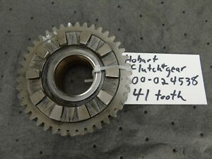Hobart 60 80 Qt H600 L800 Mixer 00 024538 Lower Clutch Upper Gear