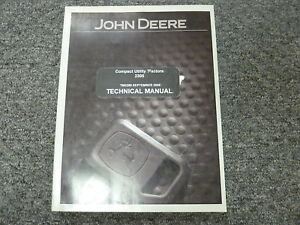 John Deere 2305 Compact Utility Tractor Shop Service Repair Manual Tm2289