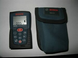 Bosch Dlr130 Laser Distance Measurer W Pouch W Batteries Tested Ships Fast