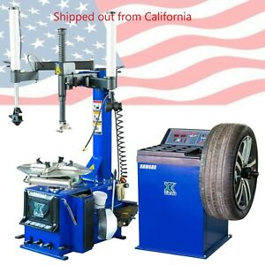 New 988 Tire Changer Wheel Changers Machine Combo Lb 680 Balancer Rim Clamp