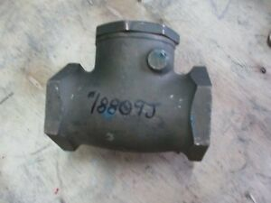 Powell 18809j 125 Bronze Check Valve New Old Stock