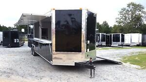8 5x30 Concession Food Vending Catering Competition Cooking Trailer