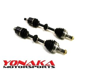 Yonaka Pair 02 06 Acura Rsx Type s Performance Cv Joints Axle Shafts 250bhp K20