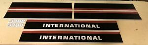International 3288 Hood And Cab Decals