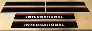 International 5288 Hood And Cab Decals