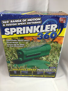 Emson Sprinkler 360 Pivot Head Flow Sprinler As Seen On Tv