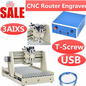 Usb 3 Axis 3040 Cnc Router Engraver 400w 3d Engraving Drilling Milling Machine