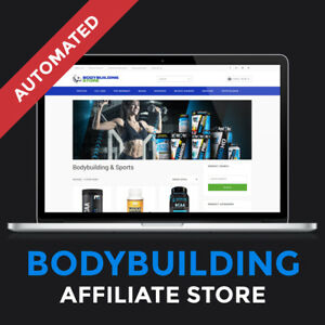 Bodybuilding Affiliate Store Turnkey Website Business For Sale