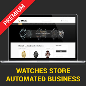 Watches Business Website Fully Automated Affiliate Store