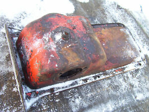Vintage Ji Case Sc Tractor engine Oil Pan Plug Looks Ok 1941