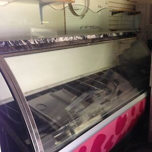 Carpigiani G12 24 Pan Gelato Display Case Ice Cream Dipping Cabinet