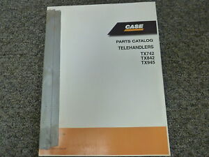 Case 584d 585d 586d Construction King Forklift Lift Truck Parts Catalog Manual