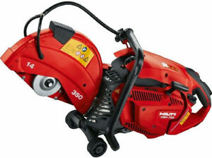 New Hilti Dsh 700 x Hand held 70cc Gas Saw W easy start authorized Dealer