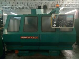 Matsuura Vertical Machining Center Mc 760vx 4th Axis