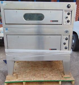 Garland Pizza Oven With Broiler Oven Double Stack Electric 1 Or 3 Phase