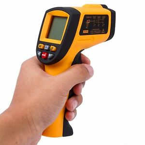 Autvivid Professional Non contact Digital Laser Infrared Thermometer Top Gun Hd