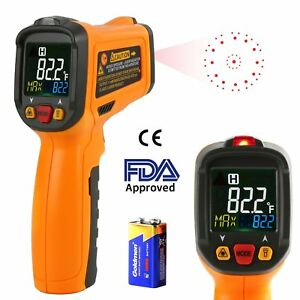 Infrared Thermometer Aidbucks Pm6530b Digital Laser Non Contact Cooking Ir Gun