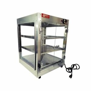 Commercial Food Pizza Pastry Warmer Countertop 18x18x24 Display Case