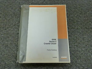 Case Model 650k Series 2 Crawler Dozer Parts Catalog Manual Book 7 9650na