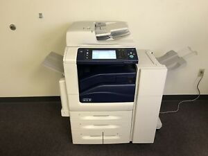 Xerox Workcentre 7845 Color Copier Machine Network Printer Scan Fax Finisher Mfp
