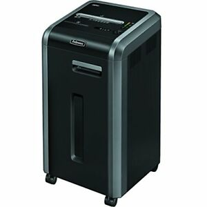 Fellowes Powershred 225ci 100 Jam Proof 22 sheet Cross cut Commercial Grade Cut