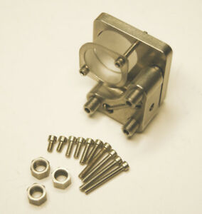 Newport New Focus 9871 Kinematic Stainless Mount For 1 2 Mirrors W extras