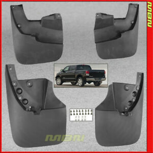 Splash Guards Front Rear 2007 2013 Toyota Tundra Mud Flaps Pair