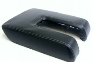 Toyota Tundra Console Center Armrest Synthetic Leather Gray Stitch For 14 18