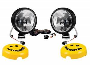 Kc Hilites 6 Daylighter Gravity Reg Led G6 Sae Driving Beam Black Pair Pack
