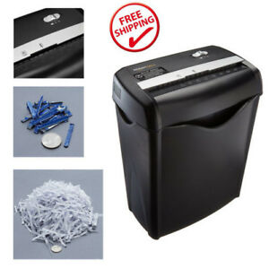 12 pack Heavy Commercial Office Paper Shredder Destroy Crosscut Credit Card Cut