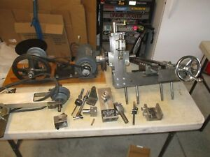 Custom Machinist Cross Mill With Vertical Head Self Oiling From Estate