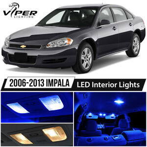 2006 2013 Chevy Impala Blue Led Interior Lights Package Kit