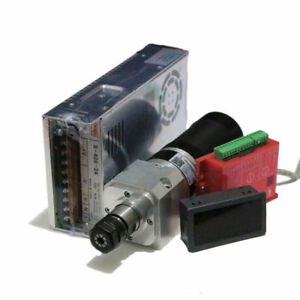 Er16 400w Cnc Self cooling Spindle Motor Brushless 24v11a For Engraving Drilling