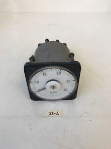 Ge Ac Voltmeter 8ab18 Rt fast Shipping Warranty