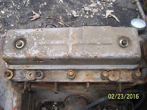 Mf Massey Ferguson 35 50 135 150 Tract Z134 Continental Gas Engine Valve Cover